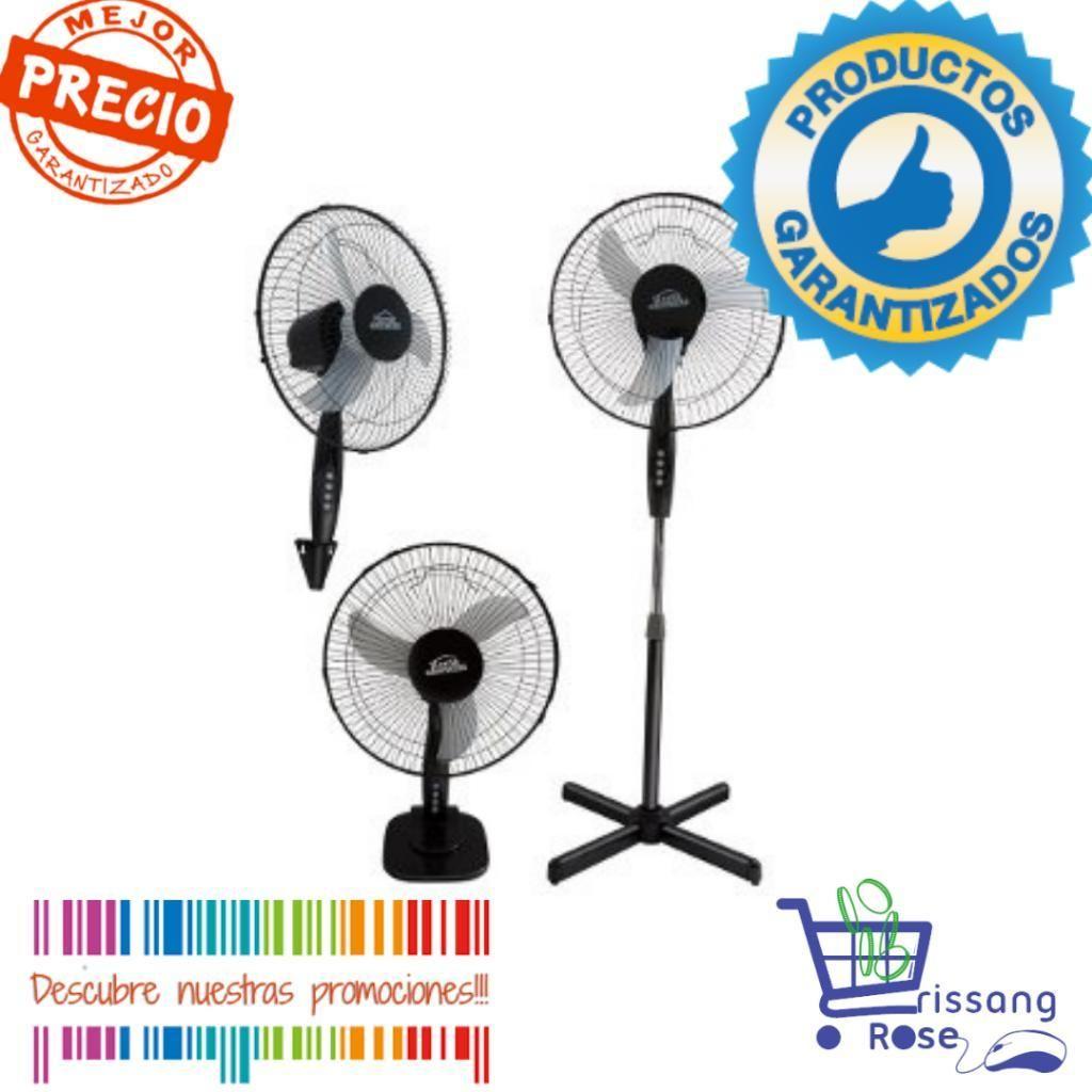Ventilador Home Element 3 en 1