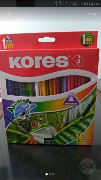 Colores Kores Caja X 24 Unidades