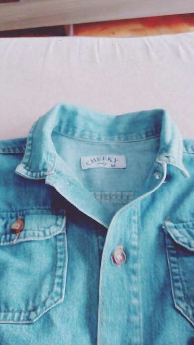 Hermosa Camisa de Jeanz Niño Cheeki Ofer