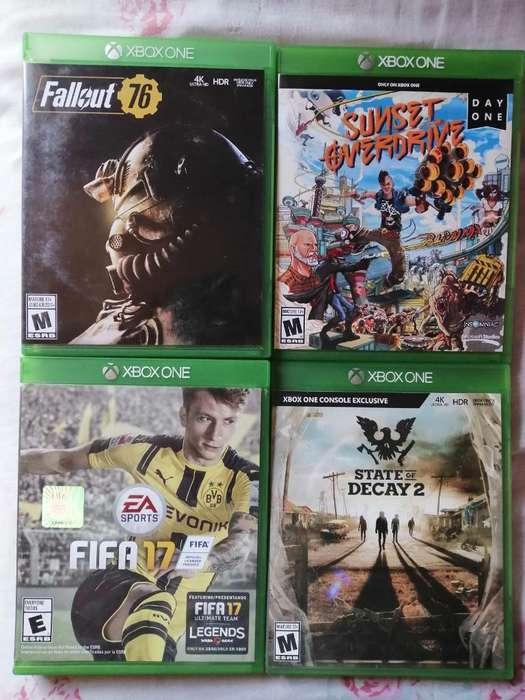 Juegos de Xbox One Cambio por Juegos Ps4