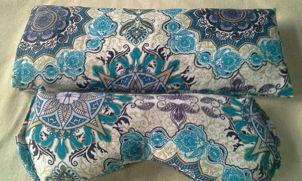 Almohadillas Térmicas de Semillas Y Flores x 2 unidades.