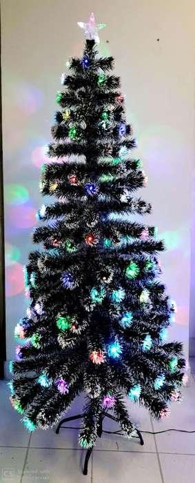 Arbol de Navidad Puntas Blancas Led