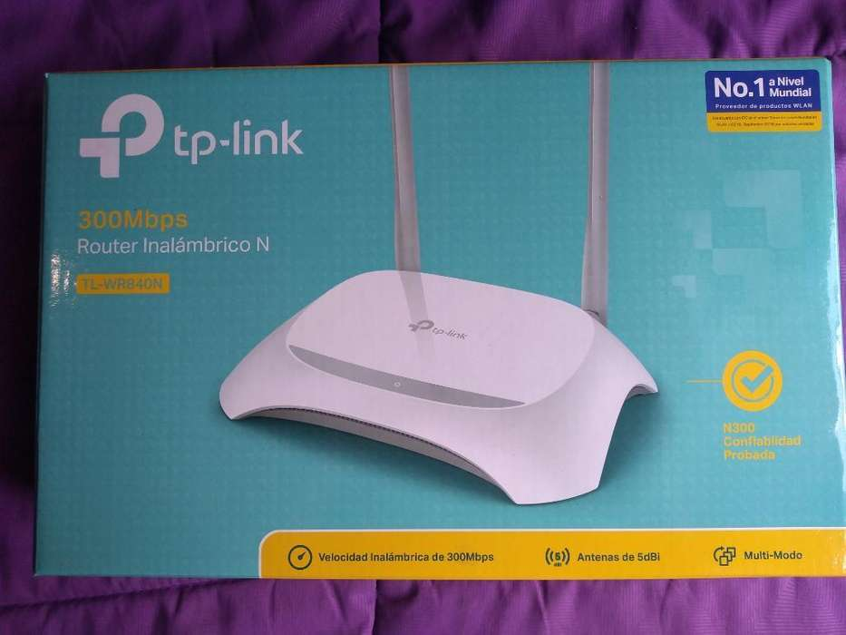 Router Inalambrico Wifi Tp-link Tl Wr840