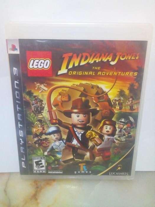 Lego Indiana Jones Play Station 3 PS3 Juego insertcoin
