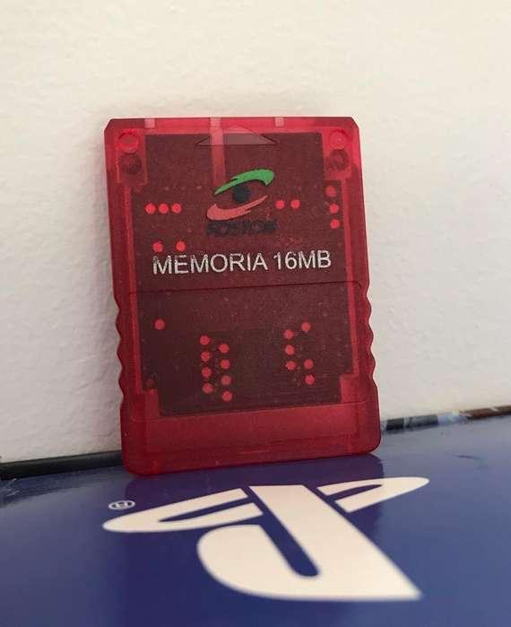 Memoria para Play 2 de 16Mb
