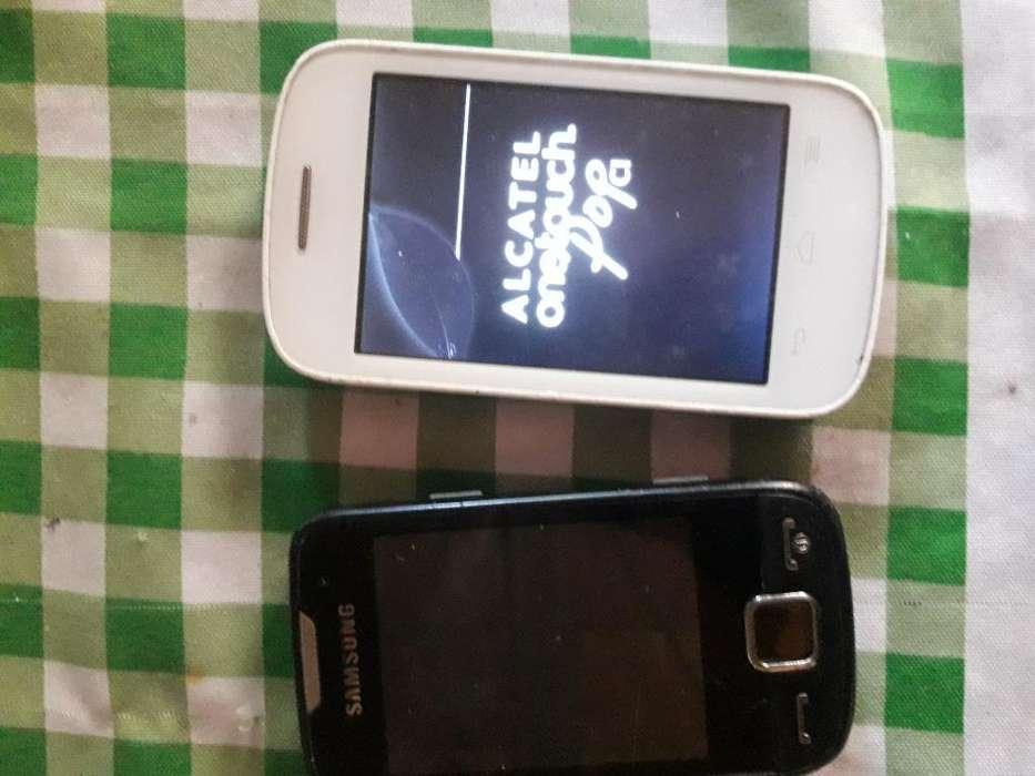 Alcatel Pop C 1 Y Samsung Ace