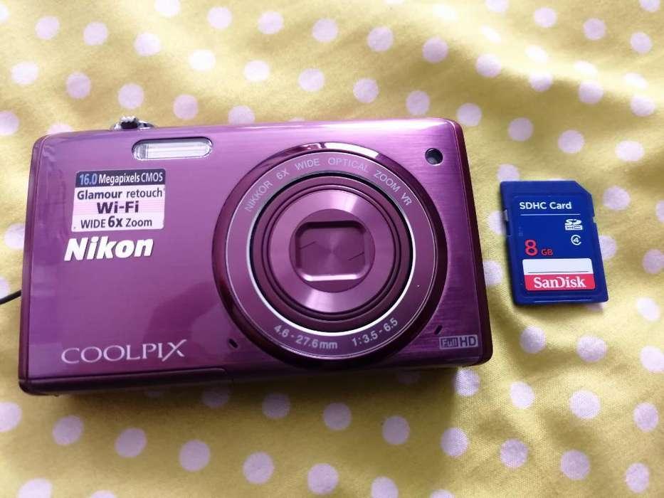 Cámara Nikon 16.0 Megapixeles