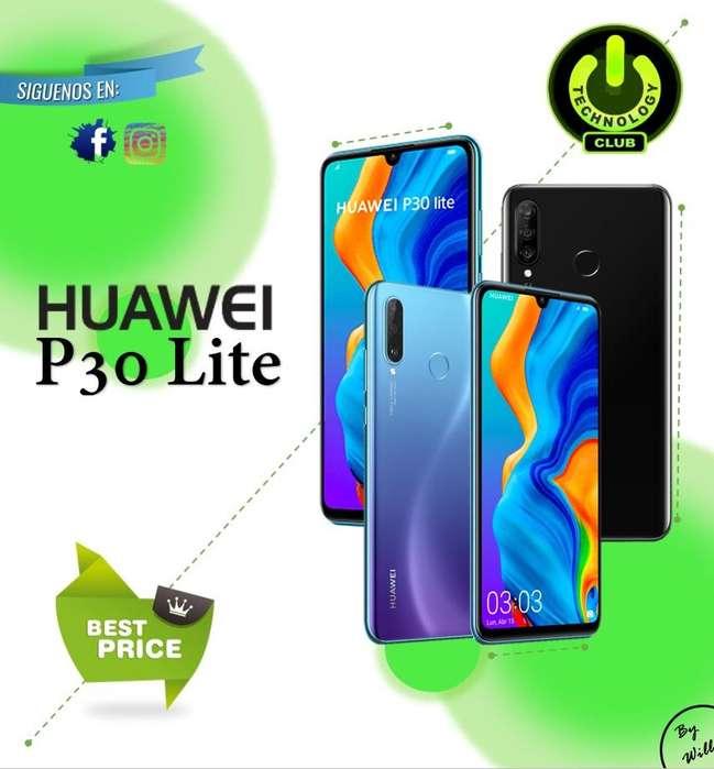 Huawei P30 Lite Kirin 710 128 Almacenamiento Celulares sellados Garantia de 12 meses