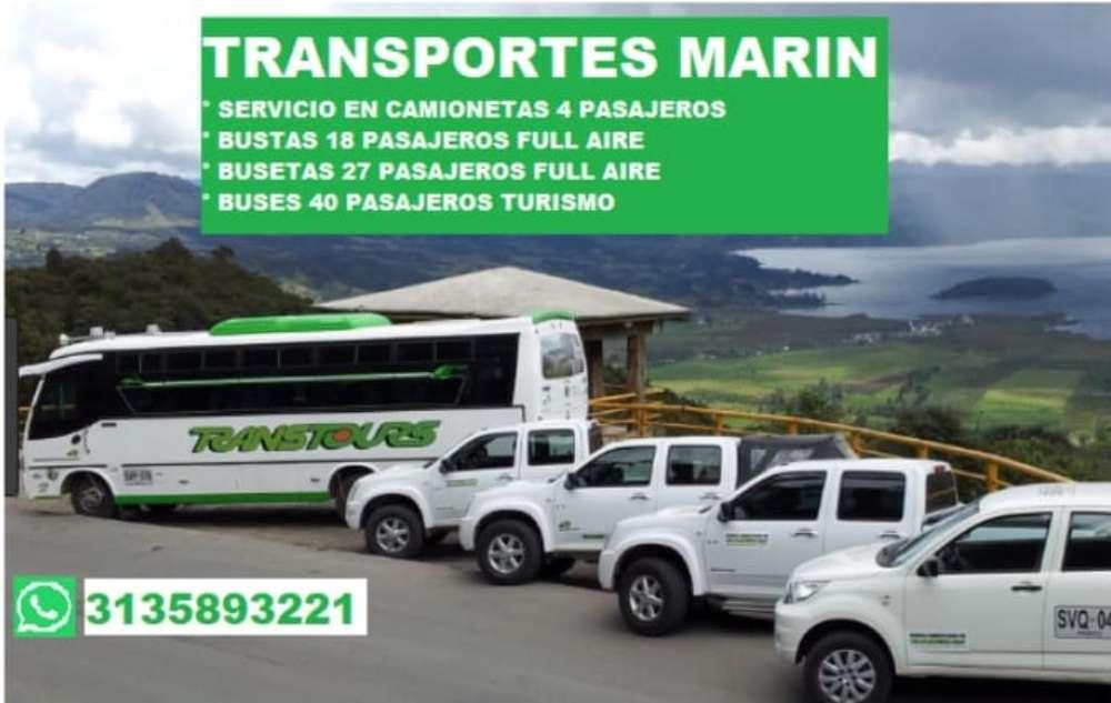 Transporte Paseo Camioneta Buses Busetas
