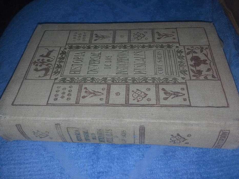 Libro Antiguo Un Regalo Historia Universal de Los Instrumentos Musicales