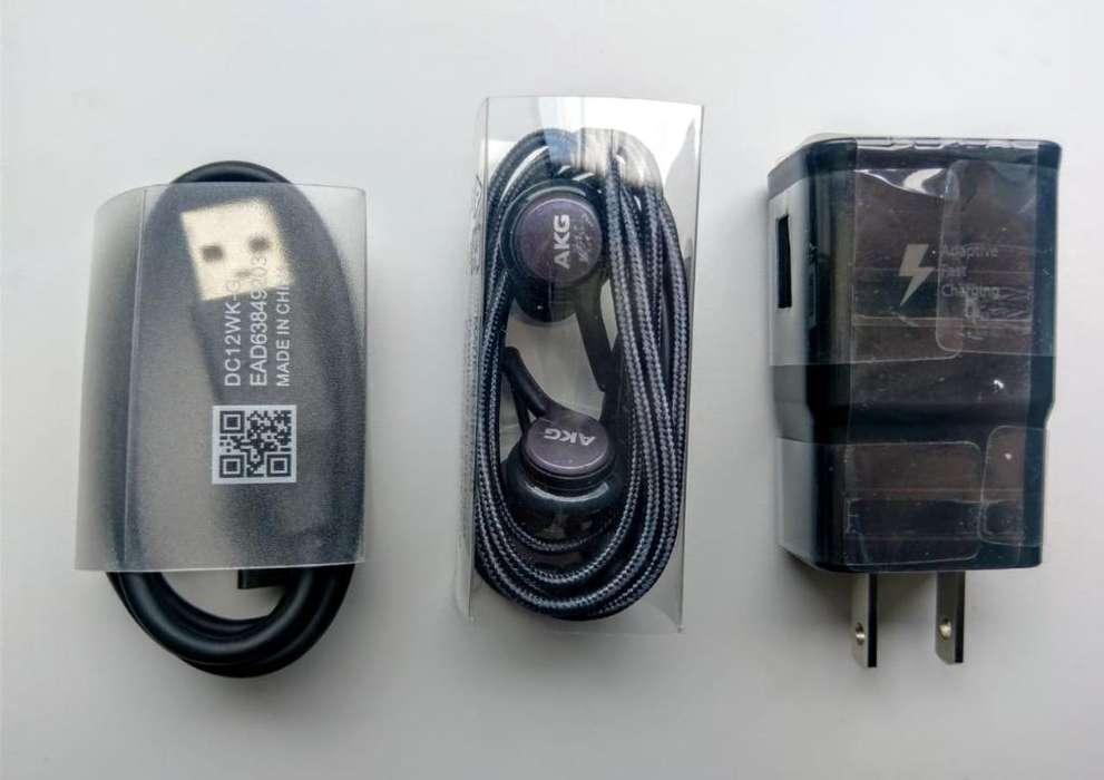 Cargador Y Audífono de Note 9