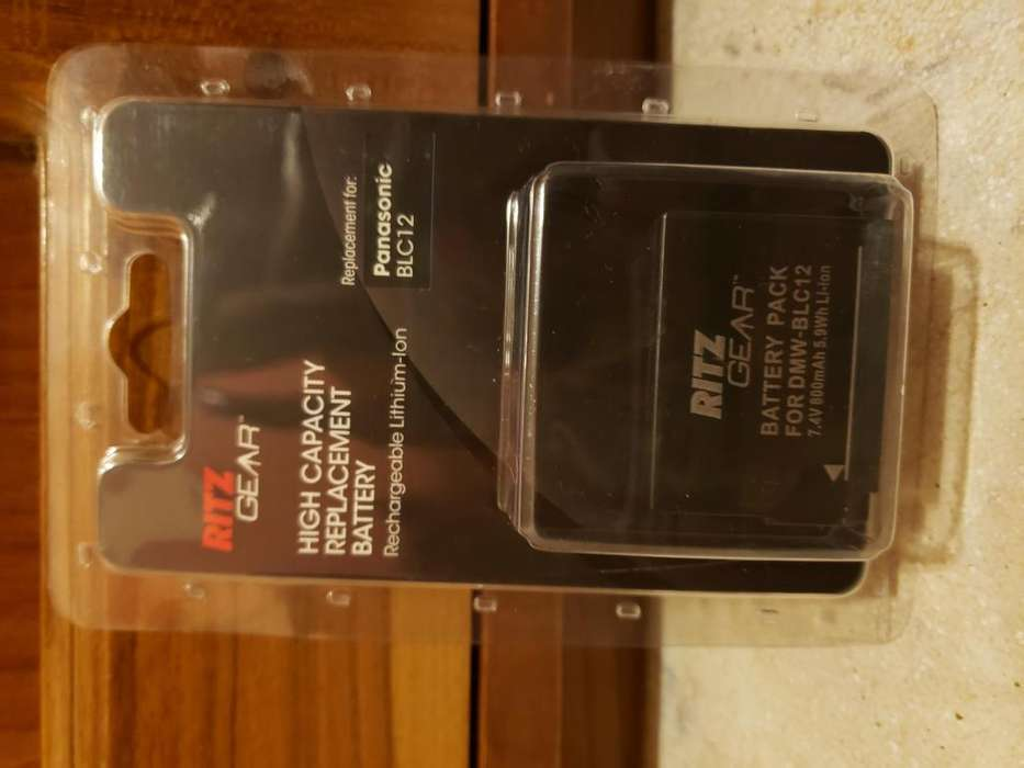 Batería Reemplazo Dmw-blc12 Para Cámaras Panasonic Lumix