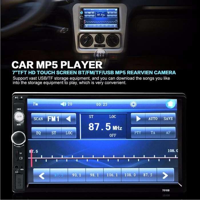 Radio para carro nuevo 7 pulgadas tactil usb aux sd bluetooth