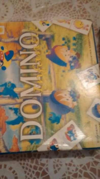 Domino Infantil 28 Fichas de Plastico