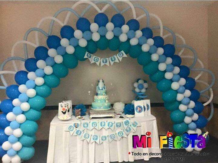 globos, decoraciones, arcos