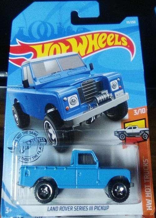 Hot Wheels Camioneta Land Rover Series III PickUp