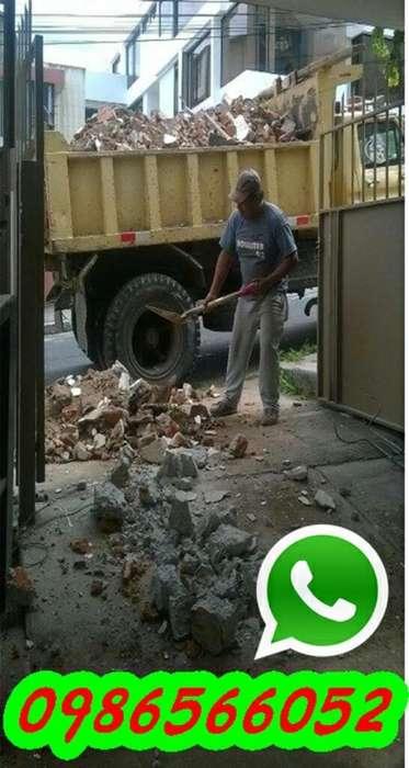 Desalojos de Escombros Y Tierra