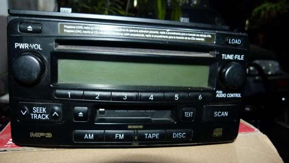 Stereo Toyota SW4 Original modelo 2010
