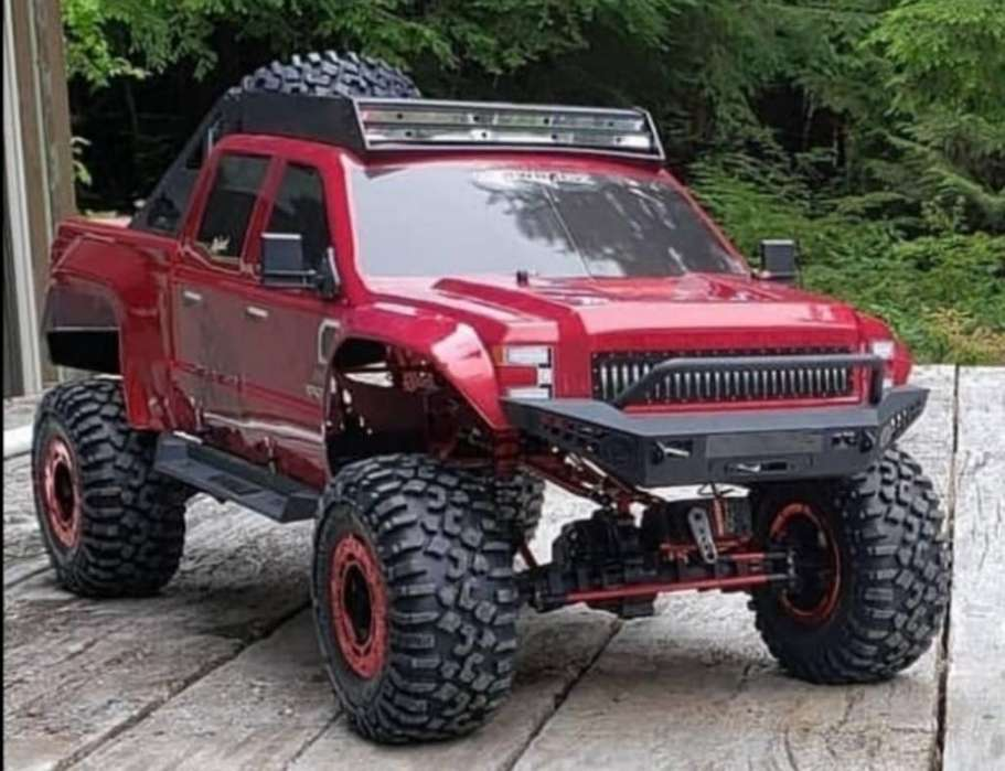 Carro Rock Crawler Escala 1:5 Gigante Rc