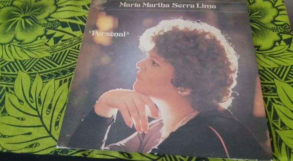 DISCO VINILO LP MARIA MARTHA SERRA LIMA PERSONAL CBS