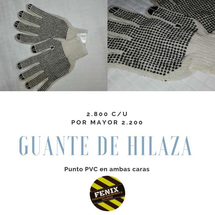 Guante Hilaza