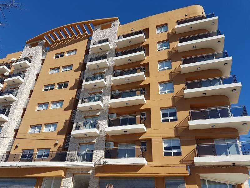Venta departamento nuevo en villa Constitución 1 dormitorio con balcón.