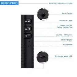Adaptador Receptor Audio Bluetooth 4.2 Recargable Inalambrico