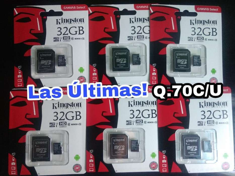 Ultimas Micro Sd 32gb Clase 10