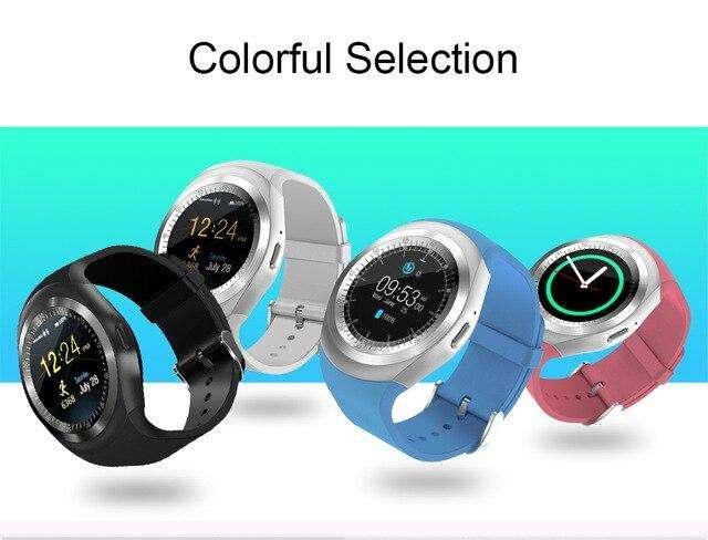 reloj inteligente Y1mas micro SD 8 gb
