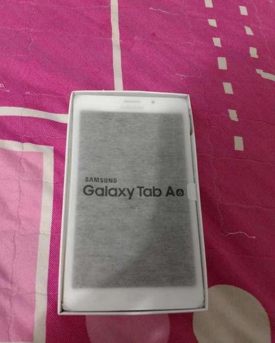 Samsung Galaxi Tab A6 con Sim Nueva