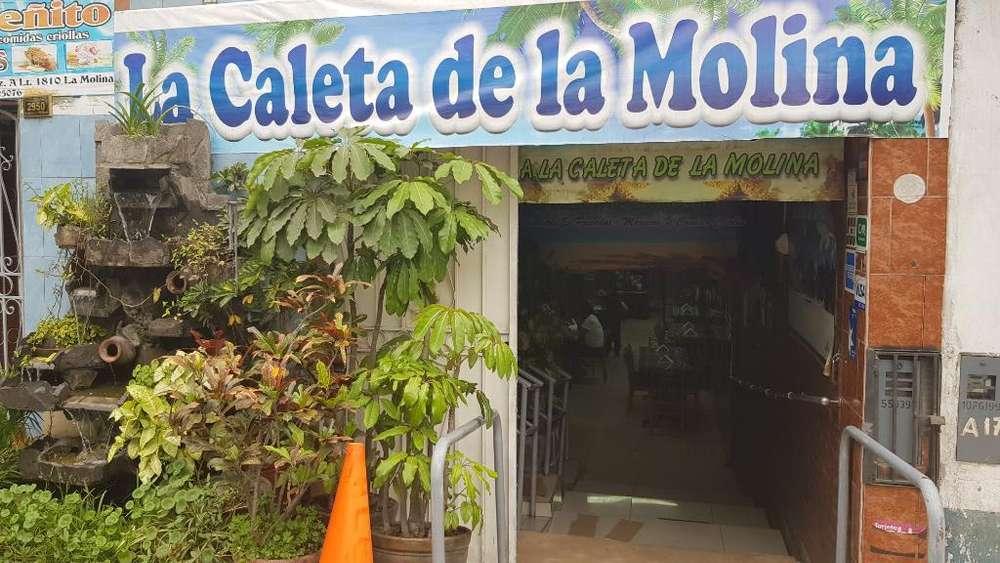 Alquilo Cevicheria La Caleta D La Molina