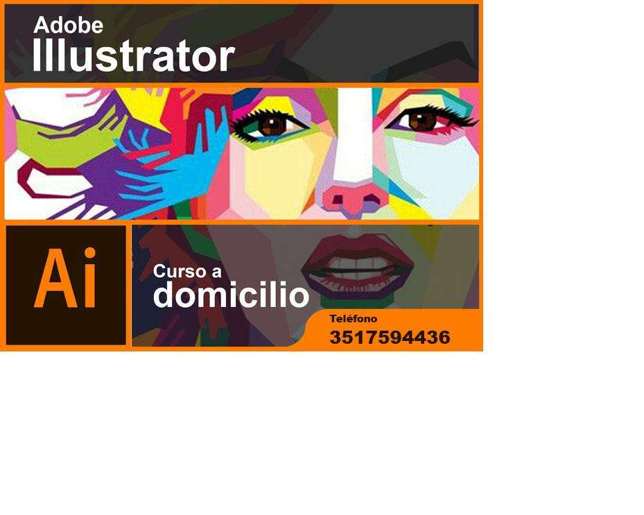 Curso de Adobe Illustrator a domicilio.
