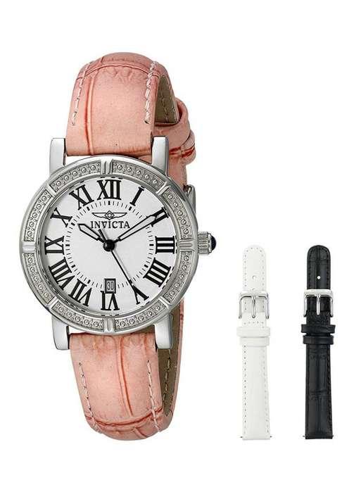 Reloj Invicta de mujer. 3 relojes por uno, edición especial, regalo ideal. Relojes Bulova Fossil Guess
