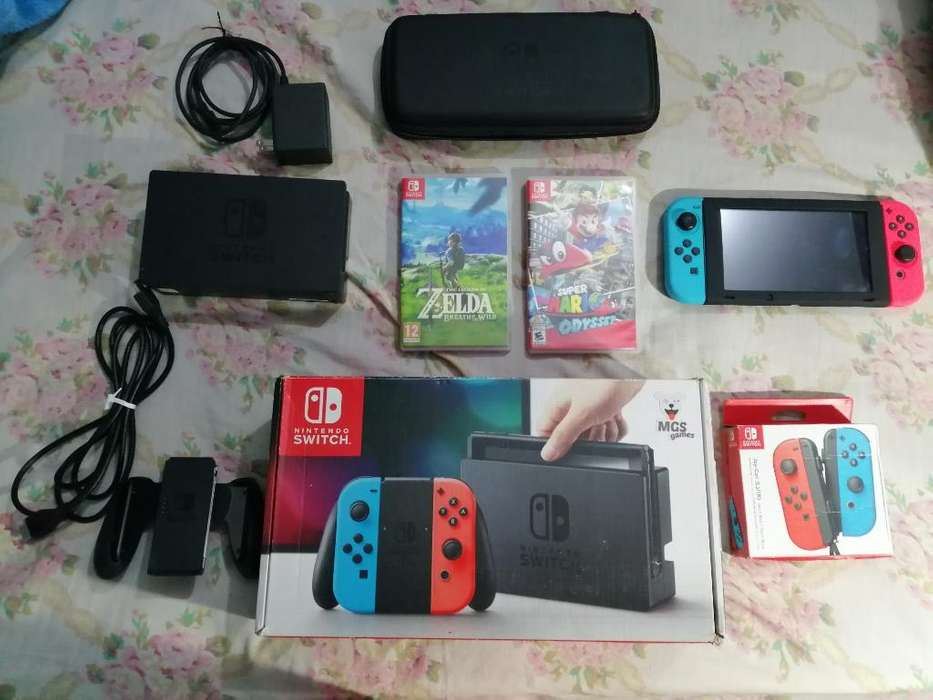 Vendo Nintendo Switch con Todo