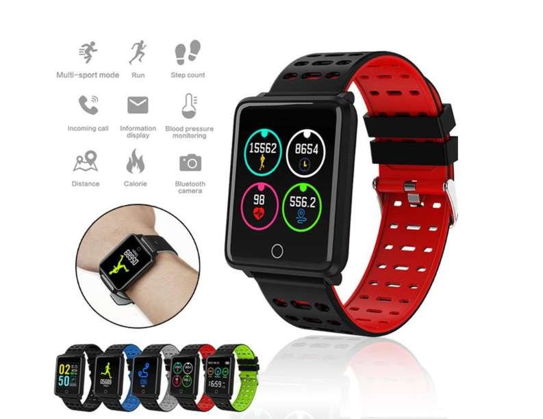 Reloj Smart Banda F3 Calorias Tiempo Distancia Agua Deportes