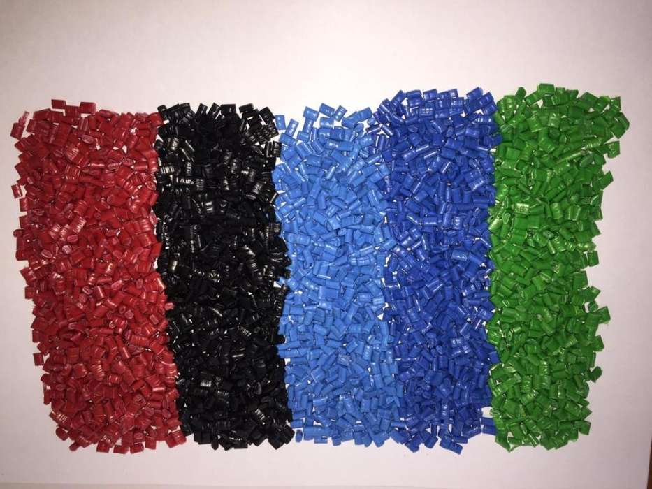 Polipropileno peletizado por colores