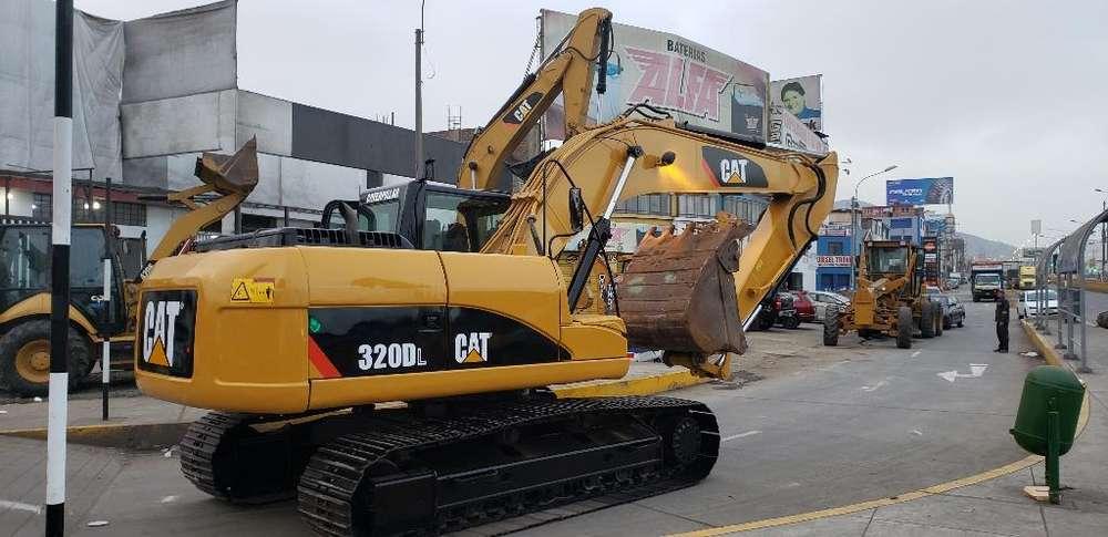 Excavadora Caterpillar 320dl 2008 Y 2013