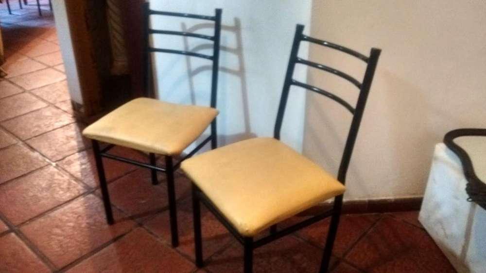 lote de 36 <strong>silla</strong>s de caño