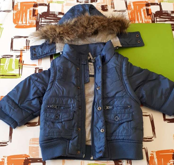 Campera <strong>cheeky</strong> Desmontable Bebe Talle L