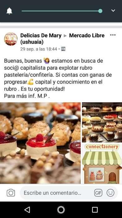 Soci@ Capitalista para Pastelería