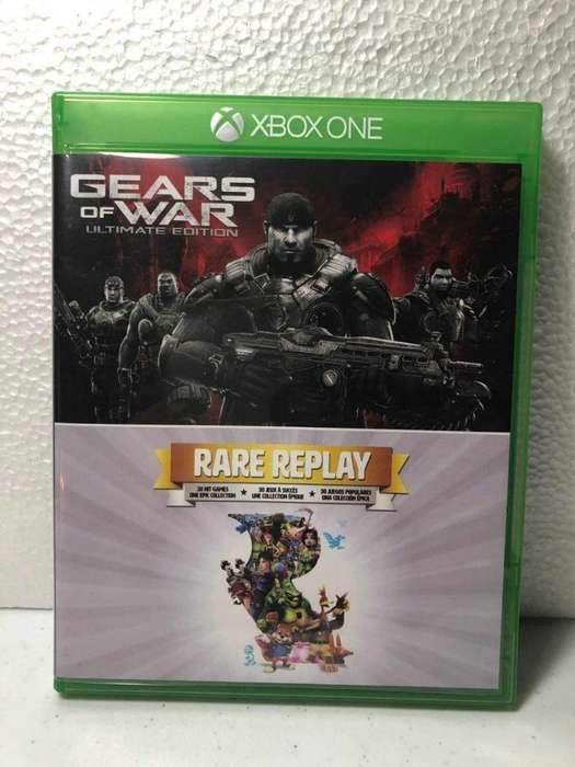 Gears of War Ultimate Edition Xbox One.