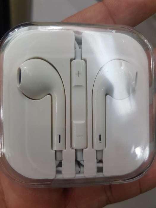 Audífonos Apple iPhone 4 5 6 Originales