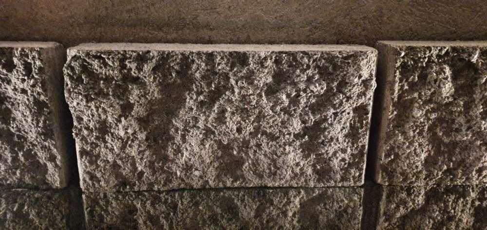 Ladrillos x30 Gris Texturado simil Piedra Villa Adelina