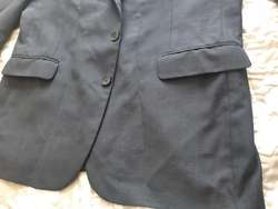 Chaqueta Leva De Terno Color Azul Oscuro