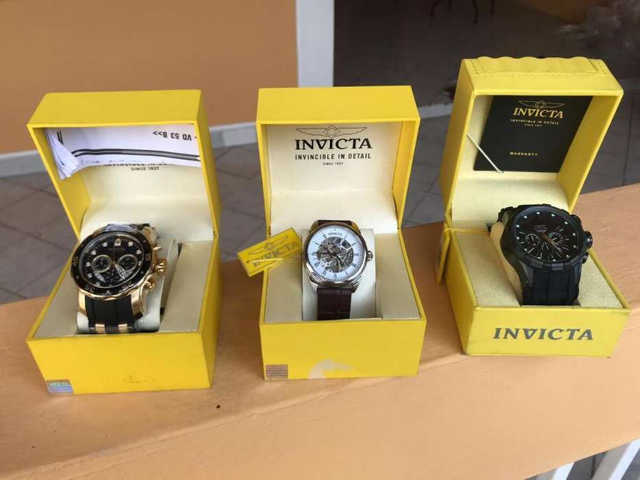 Reloj Invictas Originales Negociables