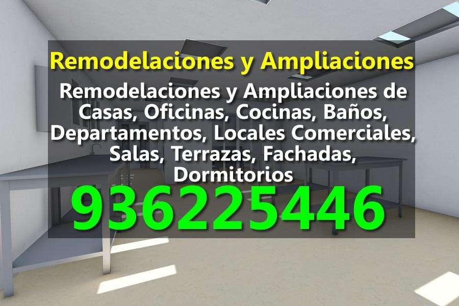 Remodelaciones y Ampliaciones de Cocinas, Baños, Departamentos, Locales Comerciales, Salas