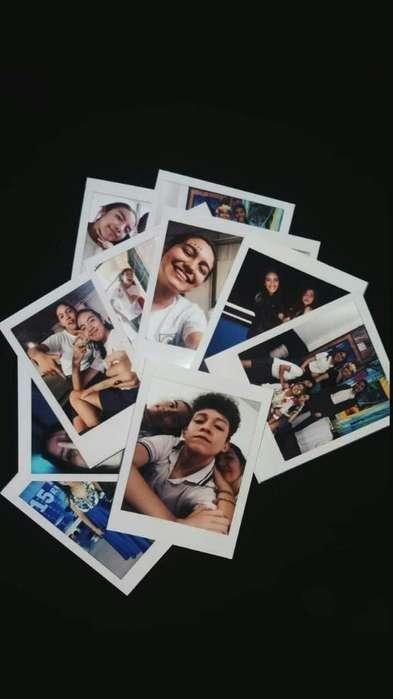 Diseño E Imprimo Fotos Formato Polaroid