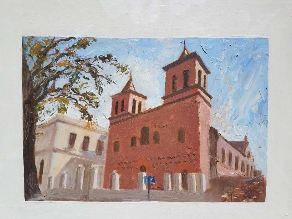 Iglesia Compañia de Jesús, Córdoba Cuadro al Óleo