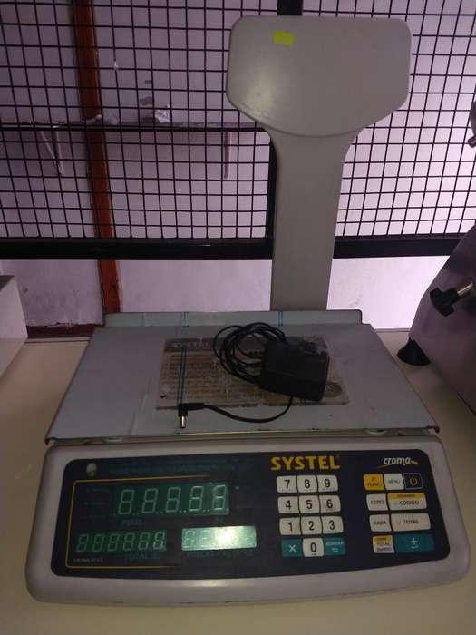 Vendo Balanza Digital Systel , Casi Nuev