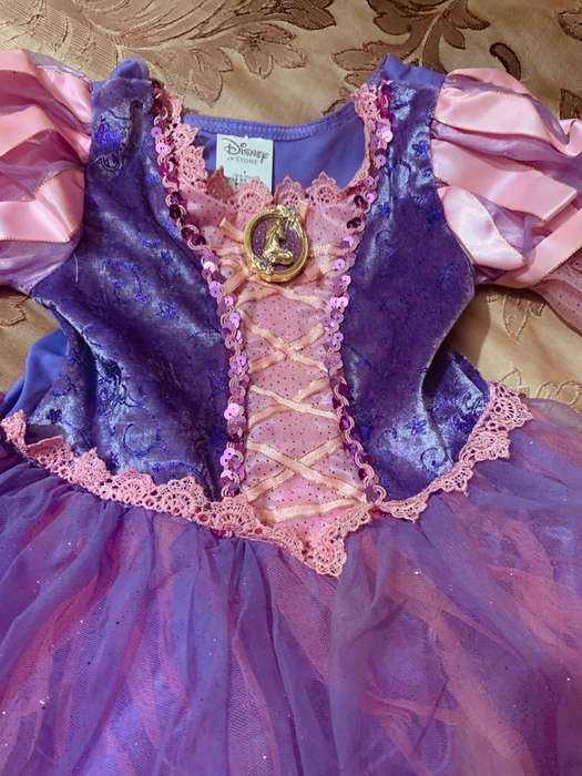 Disfraz Rapunzel original Disney talla 4